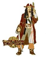 Artist Proof (Gold) DisneyShopping.com - At World's End Series - Captain Jack Sparrow