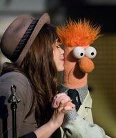Beaker and Demi Lavato