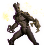 Groot Animated Render 02