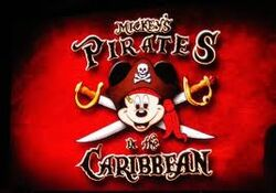 Mickey's Pirates In The Caribbean