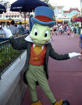 Jiminy Cricket at Magic Kingdom
