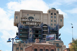 The Twilight Zone Tower of Terror at Walt Disney Studios Park