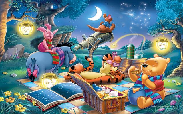 Disney Inspired Rooms Interiors Pooh Bear Tigger Eeyore Piglet Roo