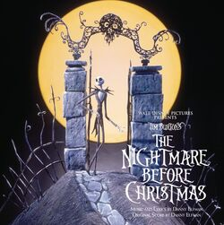 The Nightmare Before Christmas Album Artwork