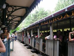 Disneyland Paris Railroad 01