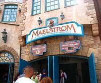 Maelstrom entrance sign