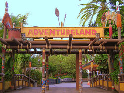 Adventureland of Magic Kingdom