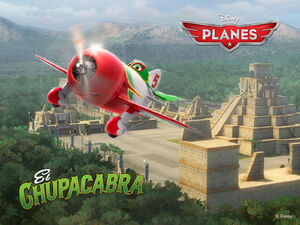 Disneys-Planes Wallpaper El-Chupacabra Standard