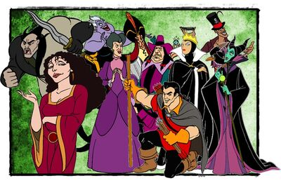 Disney Princess as Villains