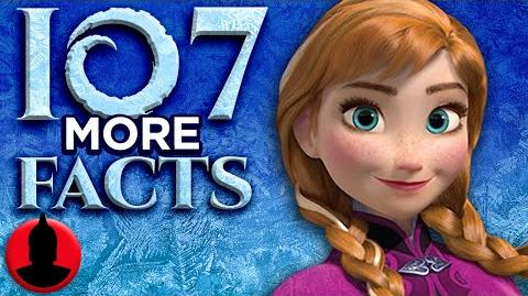 107 MORE Frozen Facts - (ToonedUp 185) ChannelFrederator