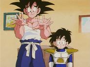 GokuAndGohanTalkingToChiChi