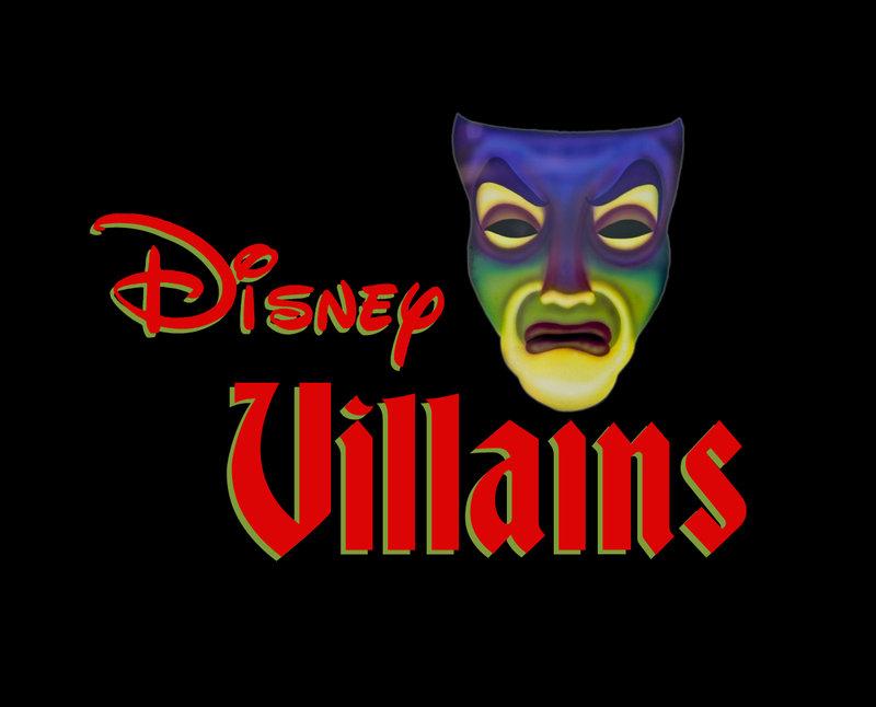 Resultado de imagen para disney villains logo