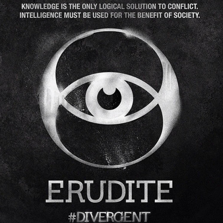 The Erudite symbol  fo...