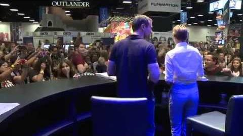 The Divergent Series Insurgent - Theo James & Shailene Woodley - Comic Con 2014 Talent Signing