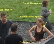 DivergentMovie raventattoo
