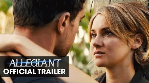 """The Divergent Series Allegiant Official Trailer – """"The Truth Lies Beyond"""""""