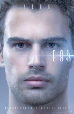 The Divergent Series Allegiant - Four - Pure Poster