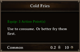 DOS Items FnD Cold Fries