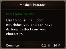 DOS Items FnD Mashed Potatoes