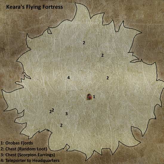 Divinity 2 Keara's Flying Fortress map