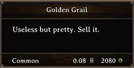 DOS Items Precious Golden Grail