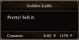 DOS Items Precious Golden Ladle
