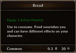 DOS Items FnD Bread