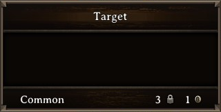DOS Items Misc Target Stats