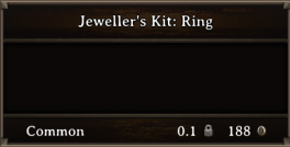 DOS Items CFT Jeweller's Kit Ring 1