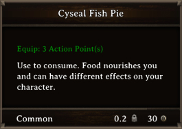 DOS Items FnD Cyseal Fish Pie