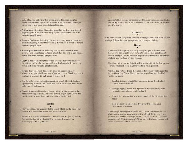 DOS Game Manual Page 8