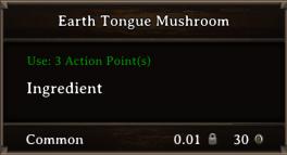DOS Items CFT Earth Tongue Mushroom
