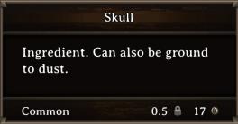 DOS Items CFT Skull