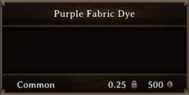 DOS Items CFT Purple Fabric Dye