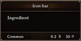 DOS Items CFT Iron Bar