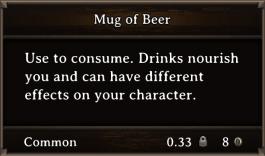 DOS Items FnD Mug of Beer