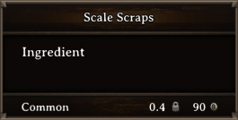 DOS Items CFT Scale Scraps