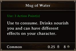 DOS Items FnD Mug of Water