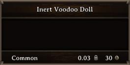 DOS Items CFTX 10.5 Inert Voodoo Doll