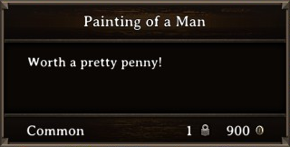 DOS Items Precious Painting of a Man1 Stats