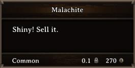DOS Items Precious Malachite
