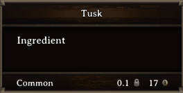 DOS Items CFT Tusk