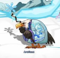 Character arcticus frost