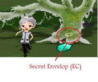 Secret envelop (Exporers Camp)