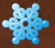 Charm holiday snowflake