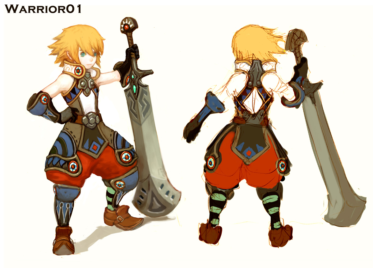 Dragon Nest Sea Character Warrior Dragon Nest Sea Wiki