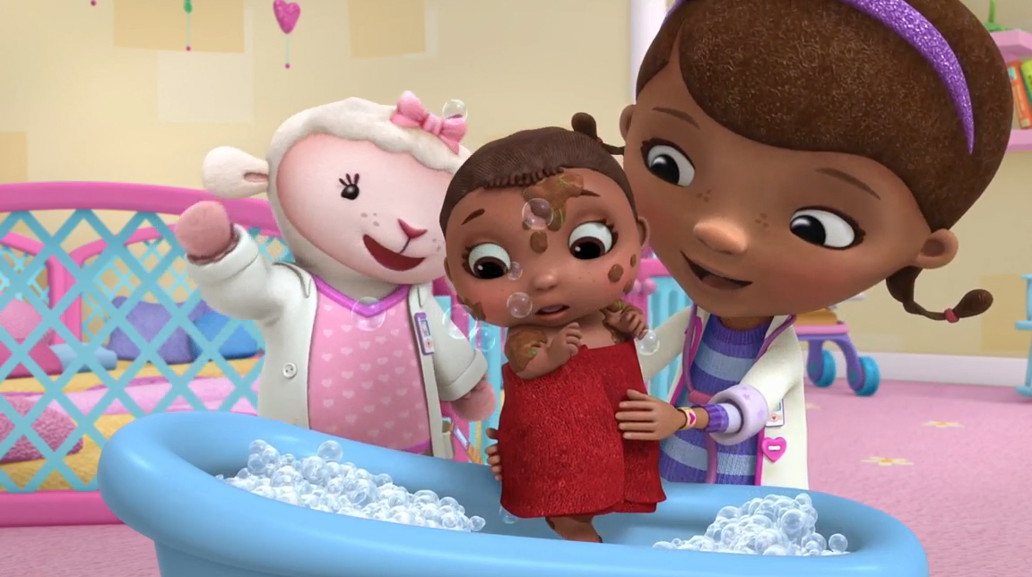 Cece S First Bath Doc Mcstuffins Wiki Fandom Powered