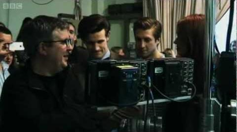 Doctor Who- 'The Power of Three' - Behind the Scenes - Series 7 2012 Episode 4 - BBC One