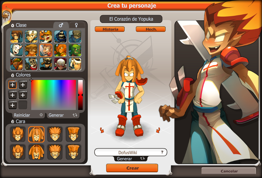 Personaje dofus fandom powered by wikia - Juego de crear tu personaje y tu casa ...
