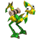 Golden and Emerald Dragoturkey